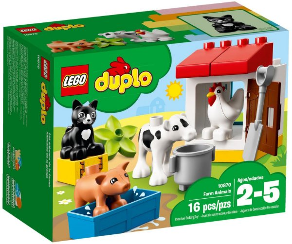 LEGO DUPLO 10870 FARM ANIMALS