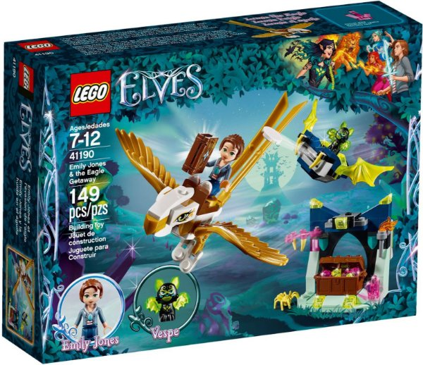 LEGO ELVES 41190 EMLY JONES & THE EAGLE