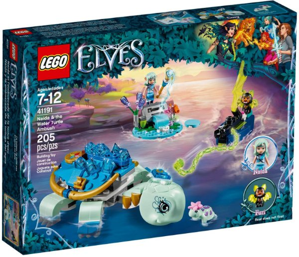 LEGO ELVES 41191 NAIDA THE WATER TURTLE AMBUSH