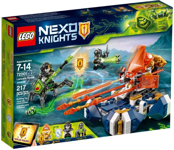 LEGO NEXO KNIGHTS 72001 LANCE'S HOVER JOUSTER