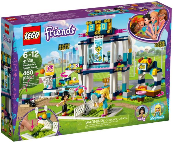 LEGO FRIENDS 41338 STEPHANIE'S SPORT ARENA