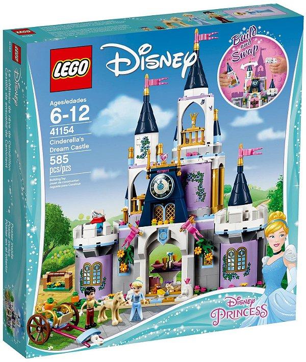 LEGO DISNEY 41154 CINDERELLA'S DREAM CASTLE