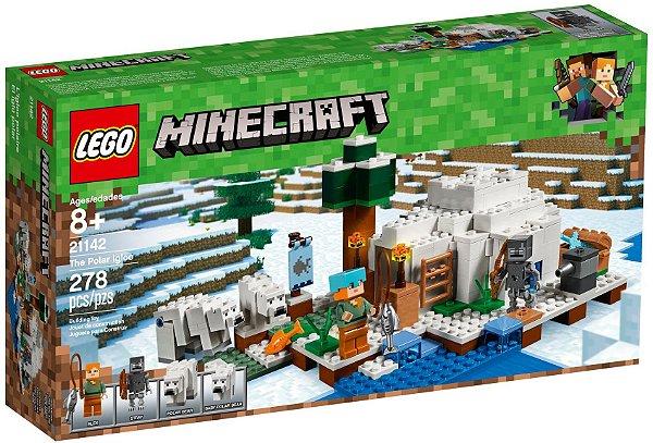 LEGO MINECRAFT 21142 THE POLAR IGLOO