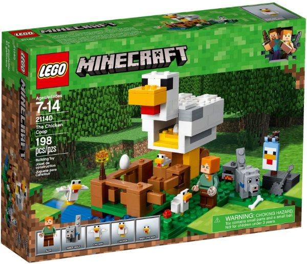 LEGO MINECRAFT 21140 THE CHICKEN COOP