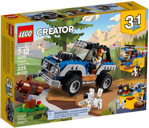 LEGO CREATOR 31075 OUTBACK ADVENTURES