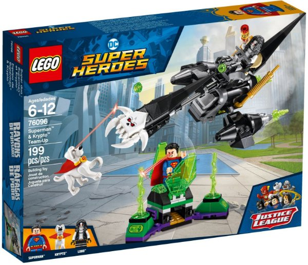 LEGO SUPER HEROES 76096 SUPERMAN & KRYPTO TEAM-UP