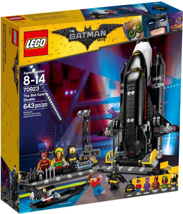 LEGO BATMAN MOVIE 70923 BAT-SPACE SHUTTLE