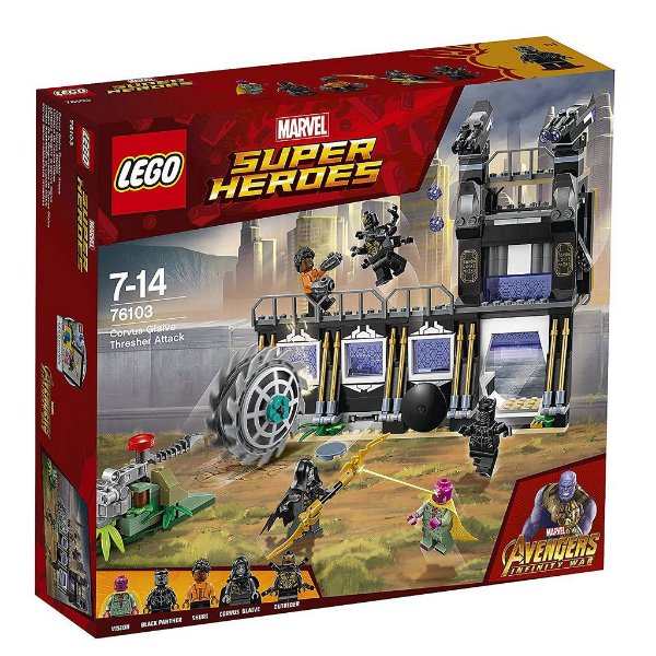 LEGO SUPER HEROES 76103 CORVUS GLAIVE THRESHER ATTACK