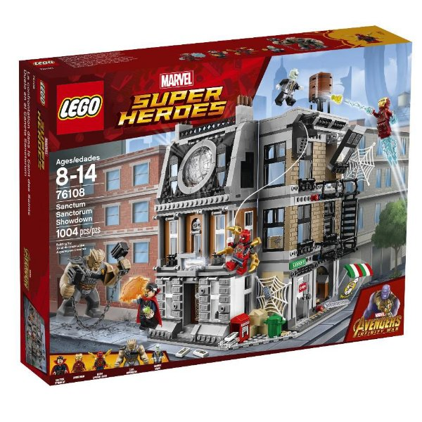 LEGO SUPER HEROES 76108 SANCTUM SANCTORUM SHOWDOWN