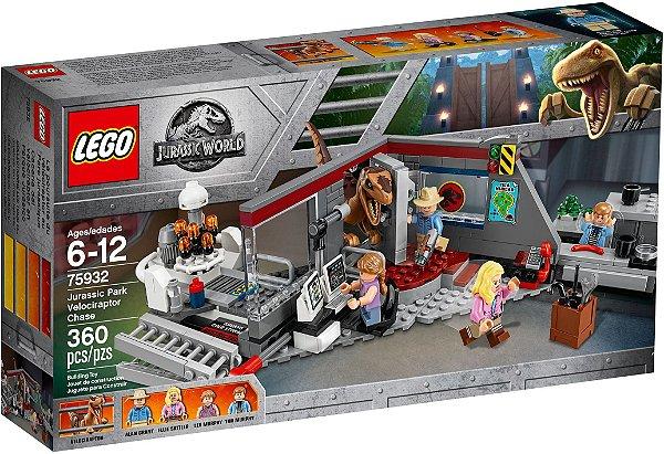 LEGO JURASSIC WORLD 75932 VELOCIRAPTOR CHASE