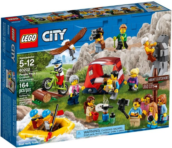 LEGO CITY 60202 PEOPLE PACK OUTDOOR ADVENTURES