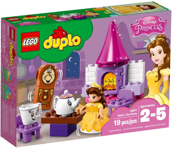 LEGO DUPLO 10877 BELLE'S TEA PARTY