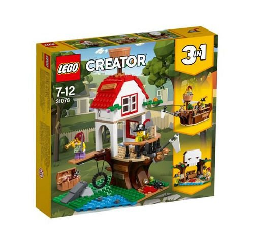 LEGO CREATOR 31078 TREE HOUSE TREASURES