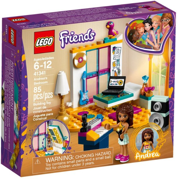 LEGO FRIENDS 41341 ANDREA'S BEDROOM