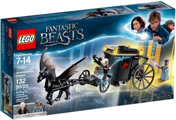 LEGO HARRY POTTER 75951 GRINDELWALD'S ESCAPE