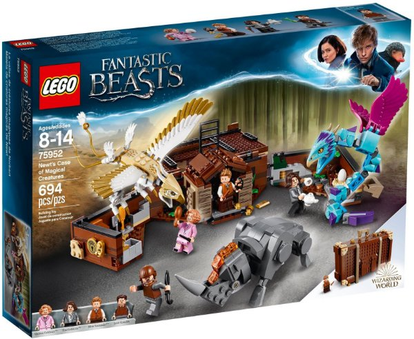 LEGO HARRY POTTER 75952 NEWT'S CASE OF MAGICAL CREATURES