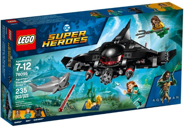 LEGO SUPER HEROES 76095 AQUAMAN BLACK MANTA STRIKE