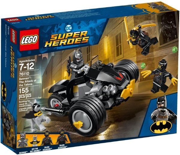 LEGO SUPER HEROES 76110 BATMAN: THE ATTACK OF THE TALONS