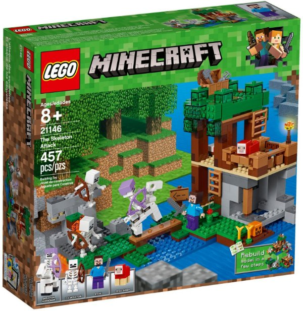 LEGO MINECRAFT 21146 THE SKELETON ATTACK