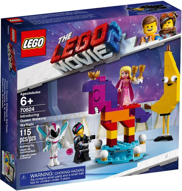LEGO MOVIE 2 70824 INTRODUCING QUEEN WATEVRA WA'NABI
