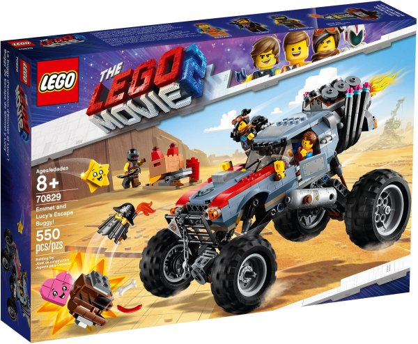 LEGO MOVIE 2 70829 EMMET AND LUCY'S ESCAPE BUGGY