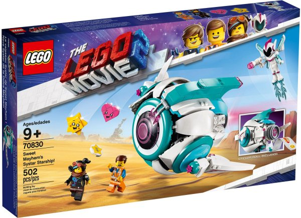 LEGO MOVIE 2 70830 SWEET MAYHEM'S SYSTAR STARSHIP