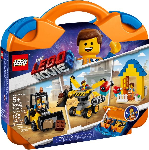 LEGO MOVIE 2 70832 EMMET'S BUILDER BOX