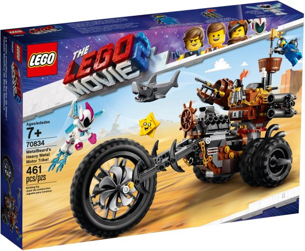LEGO MOVIE 2 70834 METALBEARD'S HEAVY METAL MOTOR TRIKE