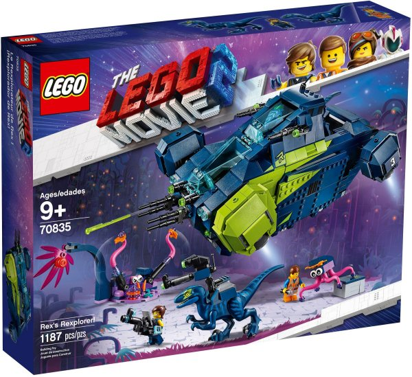LEGO MOVIE 2 70835 REX'S REXPLORER