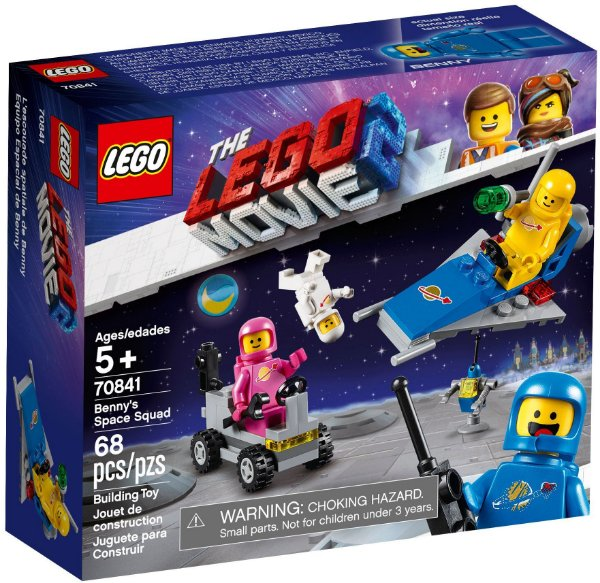 LEGO MOVIE 2 70841 BENNY'S SPACE SQUAD