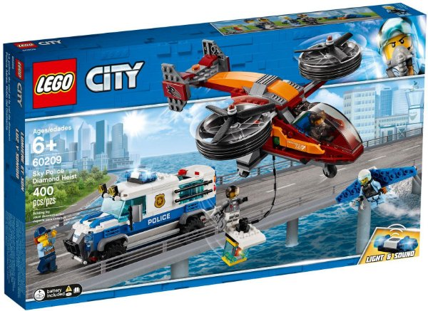 LEGO CITY 60209 SKY POLICE DIAMOND HEIST