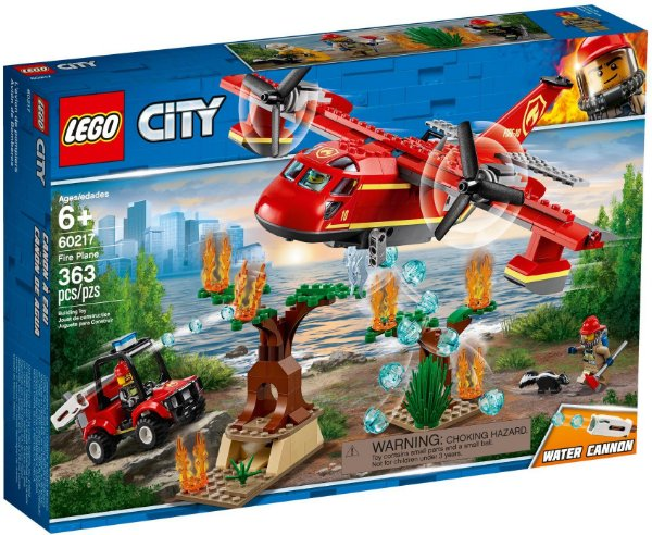 LEGO CITY 60217 FIRE PLANE