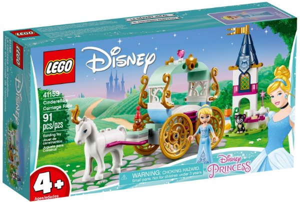 LEGO DISNEY 41159 CINDERELLA'S CARRIAGE RIDE