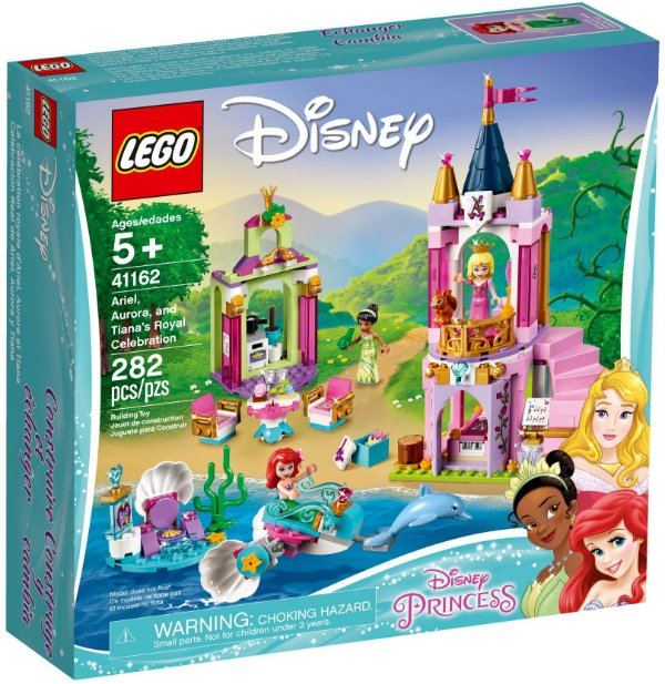 LEGO DISNEY 41162 ARIEL, AURORA AND TIANA'S ROYAL CELEBRATION