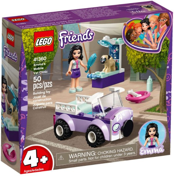LEGO FRIENDS 41360 EMMA'S MOBILE VETERINARY CLINIC