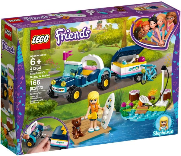 LEGO FRIENDS 41364 STEPHANIE'S BUGGY E TRAILER