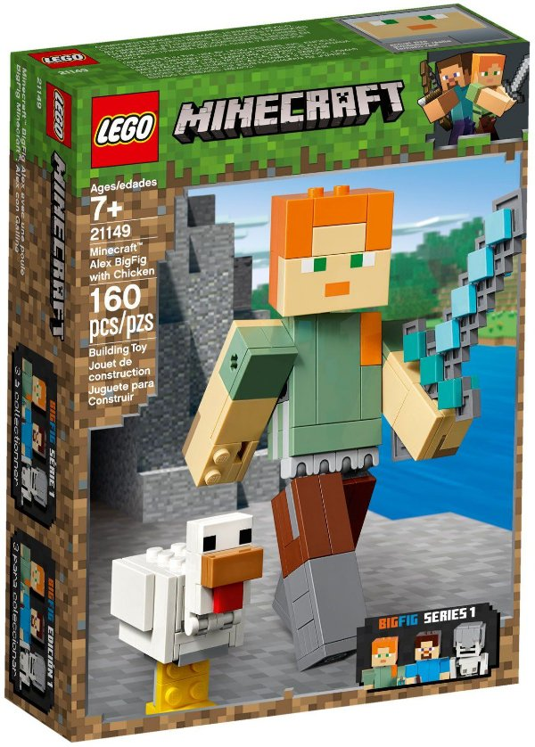 LEGO MINECRAFT 21149 ALEX WITH CHICKEN