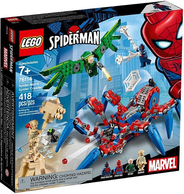 LEGO SUPER HEROES 76114 SPIDER MAN'S SPIDER CRAWLER