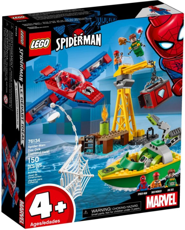 LEGO SUPER HEROES 76134 SPIDER-MAN DOC OCK DIAMOND HEIST