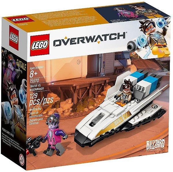 LEGO OVERWATCH 75970 TRACER VS WIDOWMAKER