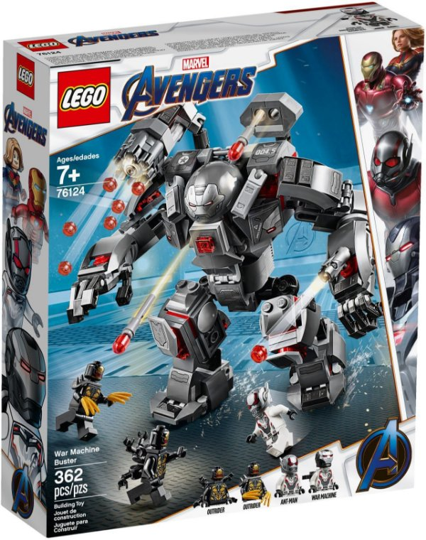 LEGO SUPER HEROES 76124 WAR MACHINE BUSTER