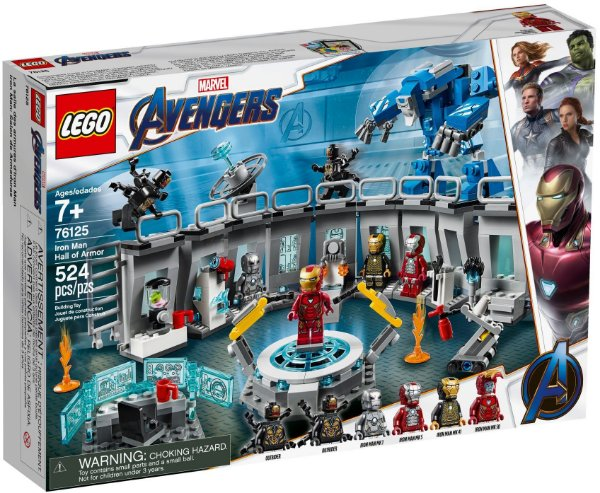 LEGO SUPER HEROES 76125 IRON MAN HALL OF ARMOR