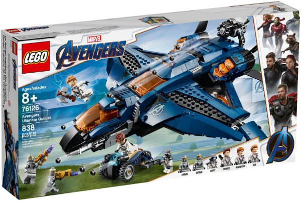 LEGO SUPER HEROES 76126 AVENGERS ULTIMATE QUINJET