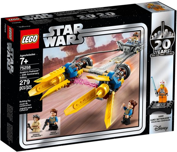 LEGO STAR WARS 75258 ANAKIN'S PODRACER - 20TH ANNIVERSARY EDITION