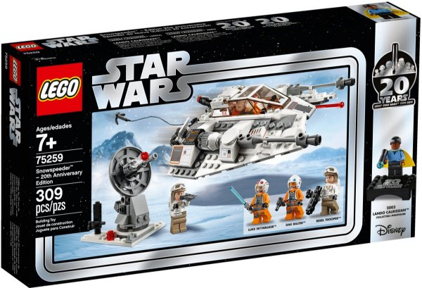 LEGO STAR WARS 75259 SNOWSPEEDER - 20TH ANNIVERSARY EDITION
