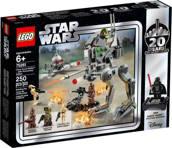 LEGO STAR WARS 75261 CLONE SCOUT WALKER - 20TH ANNIVERSARY EDITION