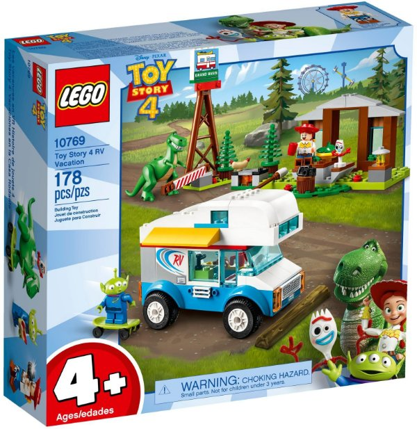LEGO TOY STORY 4 10769 TOY STORY 4 RV VACATION