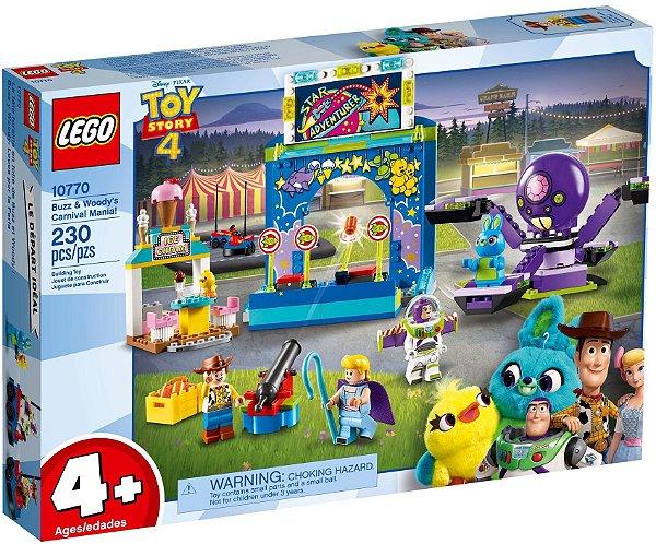 LEGO TOY STORY 4 10770 BUZZ & WOODY'S CARNIVAL MANIA