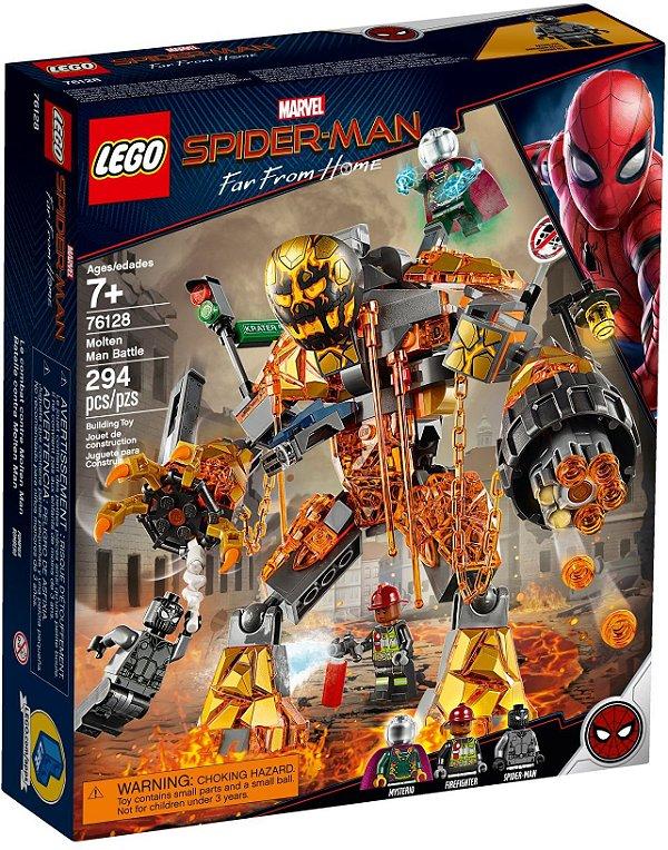 LEGO SUPER HEROES 76128 MOLTEN MAN BATTLE