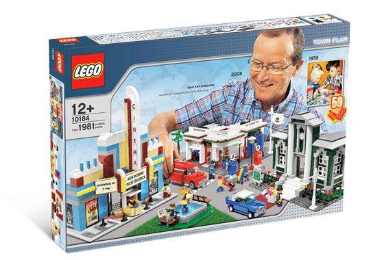 LEGO CREATOR 10184 TOWN PLAN